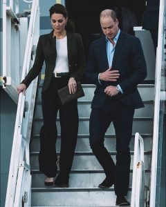 Kate Middleton: her absence noticed during the meeting between William and Meghan