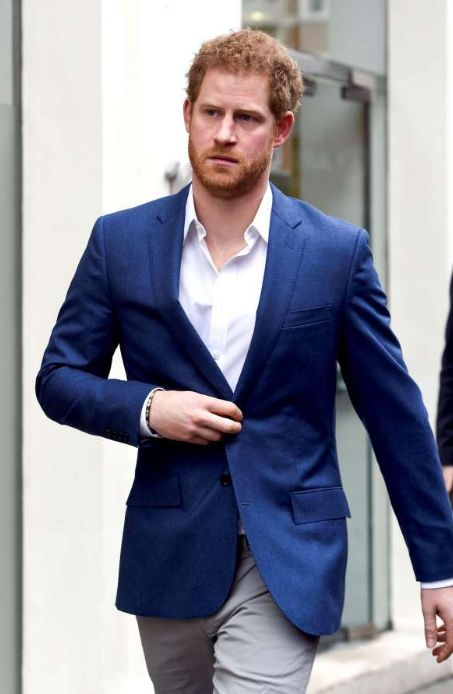 Prince Harry Stripped